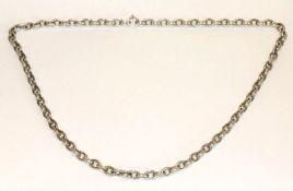 Halskette, 800 Silber, 134 gr., L 76 cm