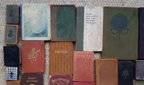A collection of 56 miniature books - various subjects.