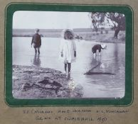 A late Victorian album of 26 photographs depicting scenes in South Africa.