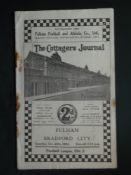 1934-35 FULHAM V BRADFORD CITY