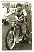 SPEEDWAY - BARRY BRIGGS SWINDON PHOTOGRAPH