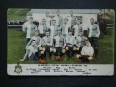 BLACKBURN ROVERS - 1904-05 ORIGINAL POSTCARD