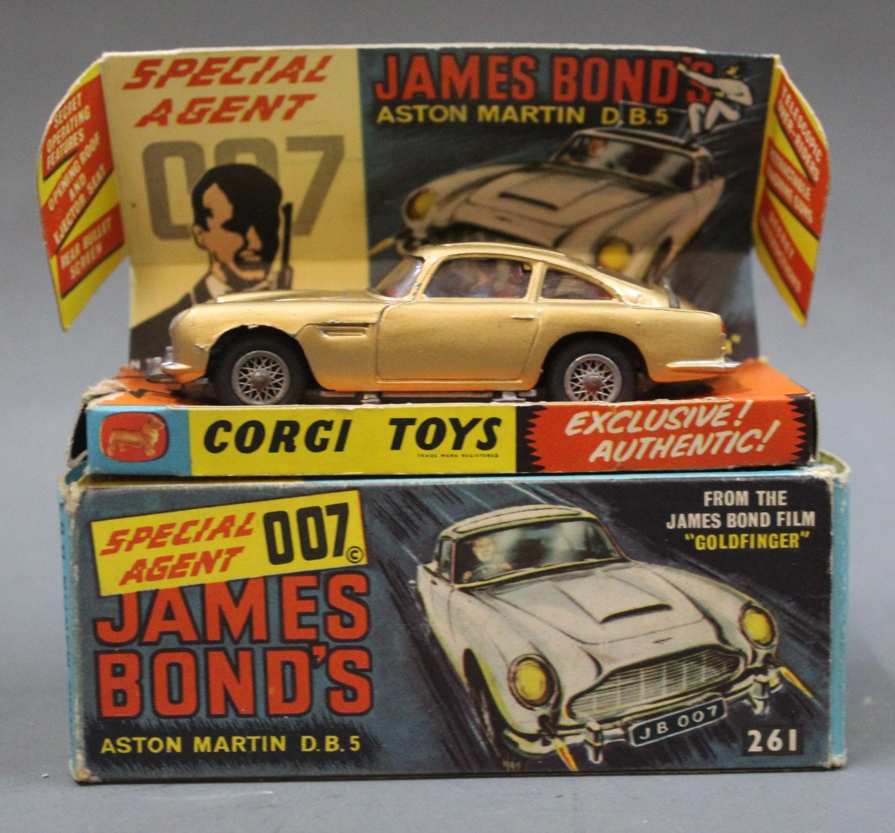 A Corgi James Bond's Special Agent 007 Aston Martin DB5