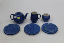 Moorcroft tableware - teapot,