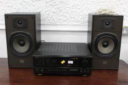 Denon AV surround receiver and 2 DL6 Celestion speakers