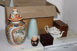 A selection of miscellaneous china,