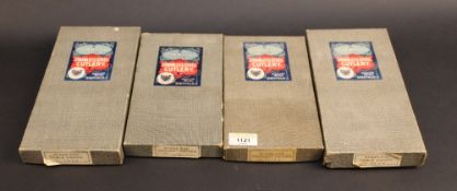 Four boxed John Wigfall & Co. stainless