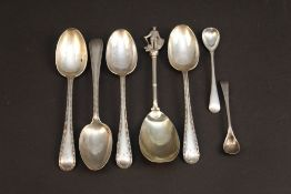 A group of miscellaneous hallmarked spoo