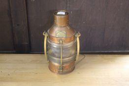 A Telford Grier McKay & Co. Ltd. copper
