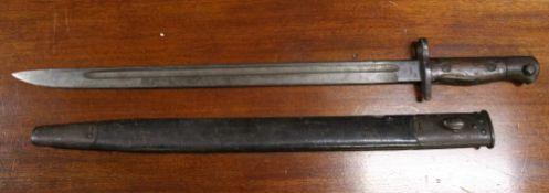 An early 20th century British bayonet, 1