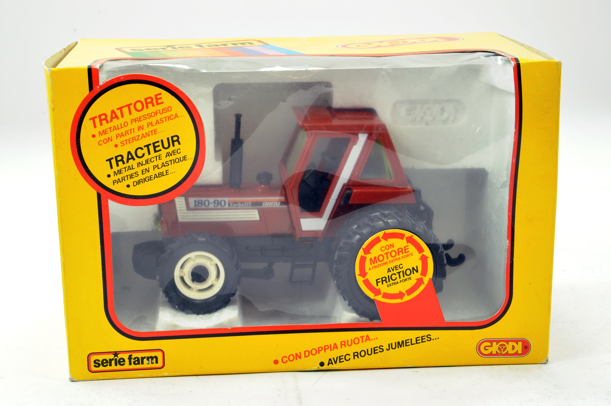 Lot 297 - Giodi No. 73035 Fiat 180-90 DT Tractor. Superb example is E to NM in Box.