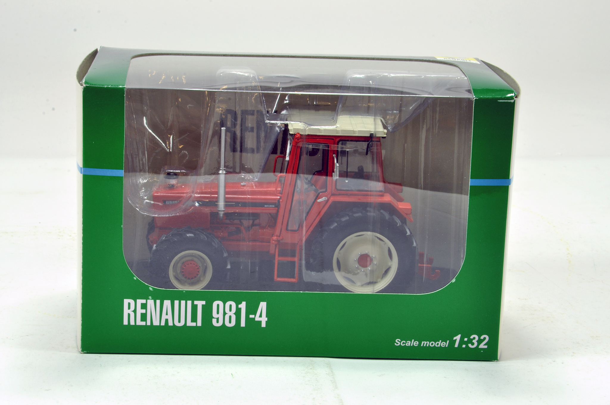 Lot 166 - Replicagri 1/32 Renault 981-4 4WD Tractor. Generally excellent in box.