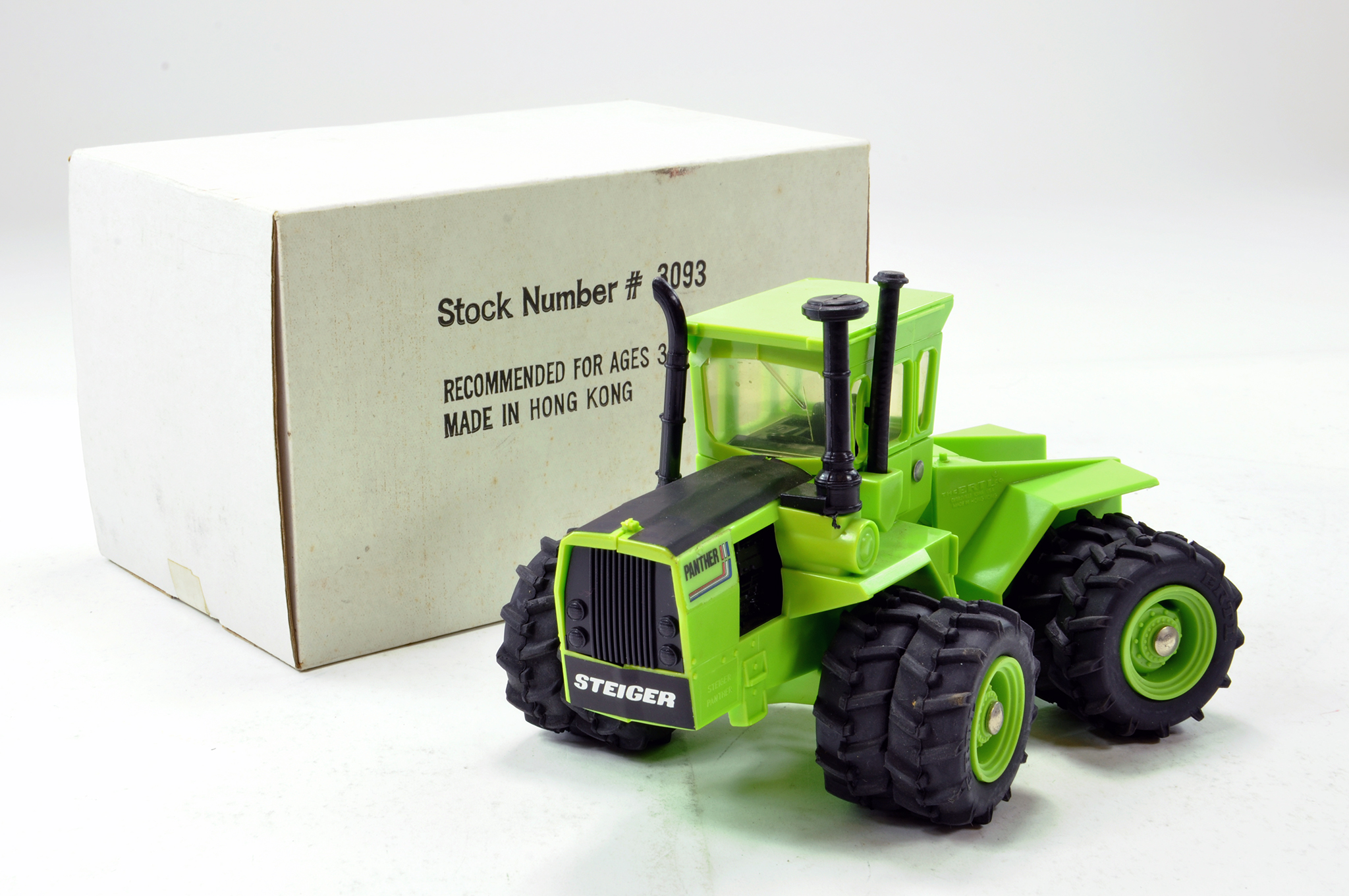 Lot 298 - Ertl 1/32 Plastic Issue Steiger Panther Tractor. Special Edition. Generally E in Box.