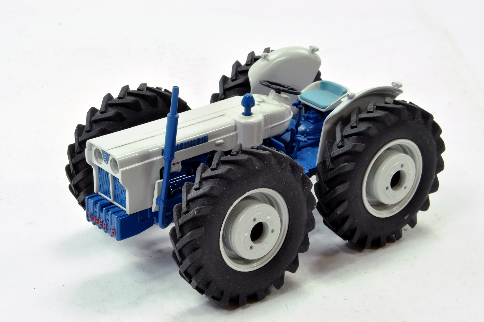 Lot 220 - Scaledown 1/32 Hand Built County Super Six Tractor. Superb piece is generally excellent.