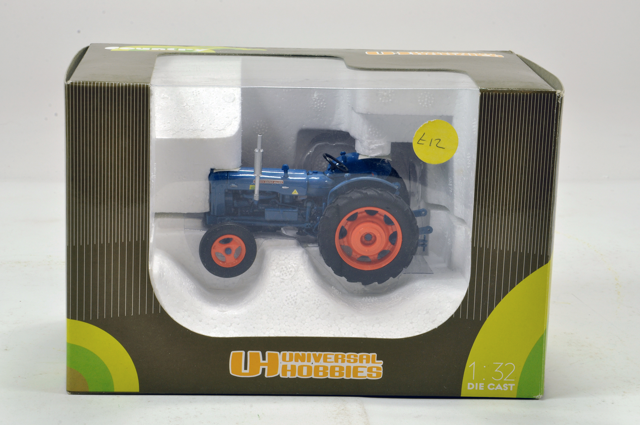 Lot 163 - Universal hobbies 1/32 Fordson Major Tractor. Generally excellent in box.