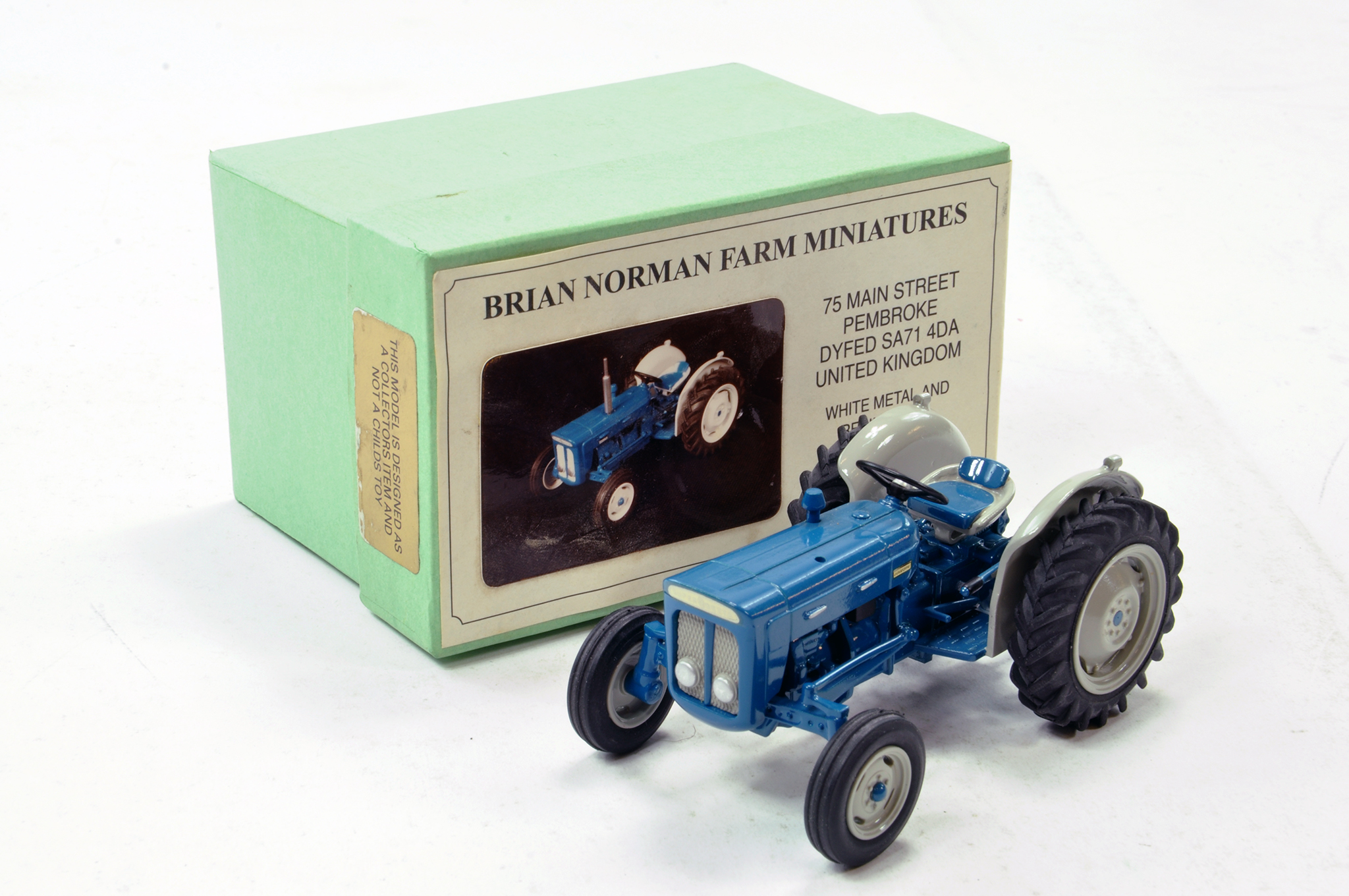 Lot 235 - Brian Norman 1/32 Fordson New Performance Super Dexta Tractor. Missing exhaust, otherwise