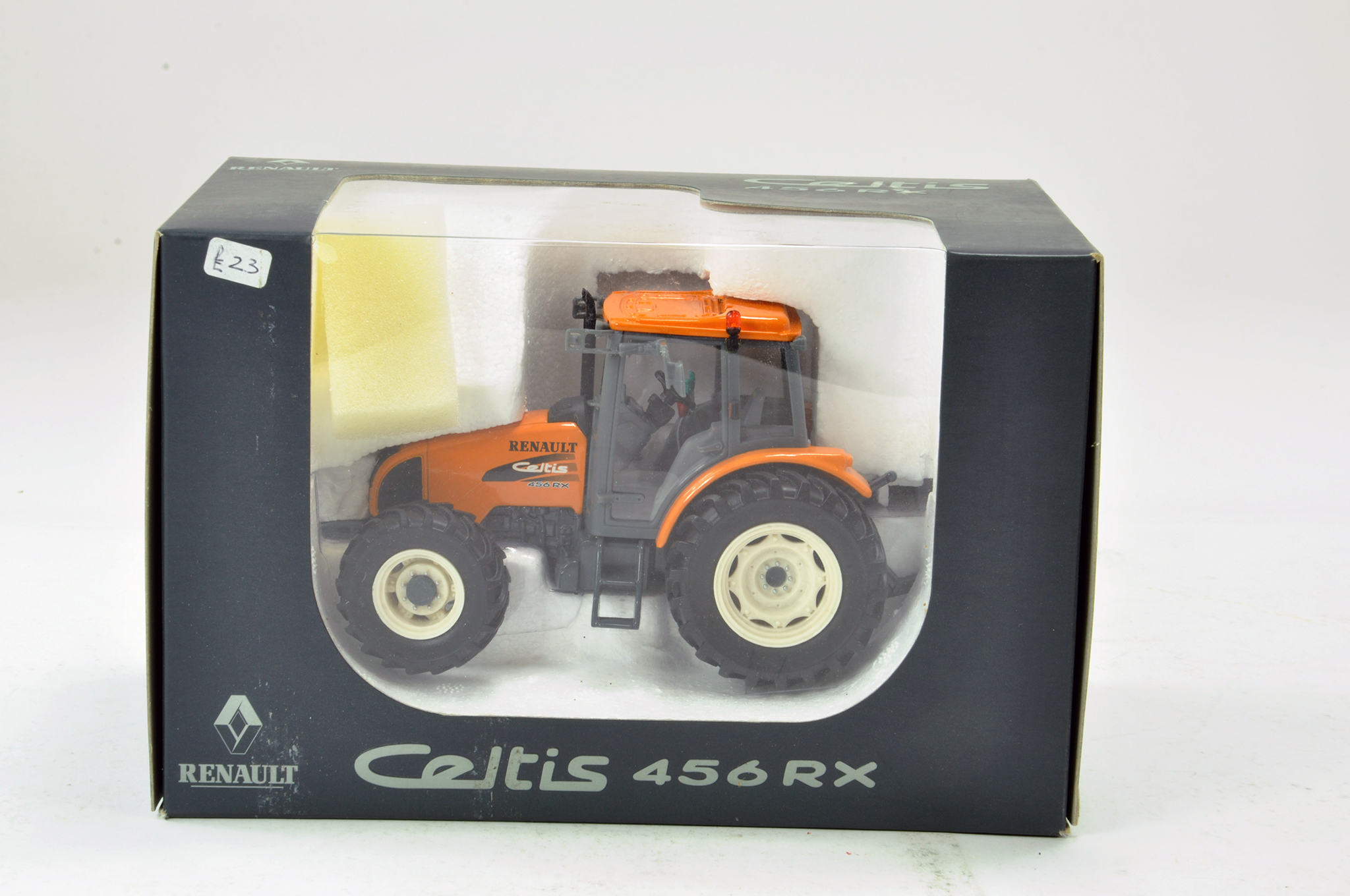 Lot 450 - Universal Hobbies 1/32 Renault Celtis 456RX Tractor. Excellent to Near Mint in Box.