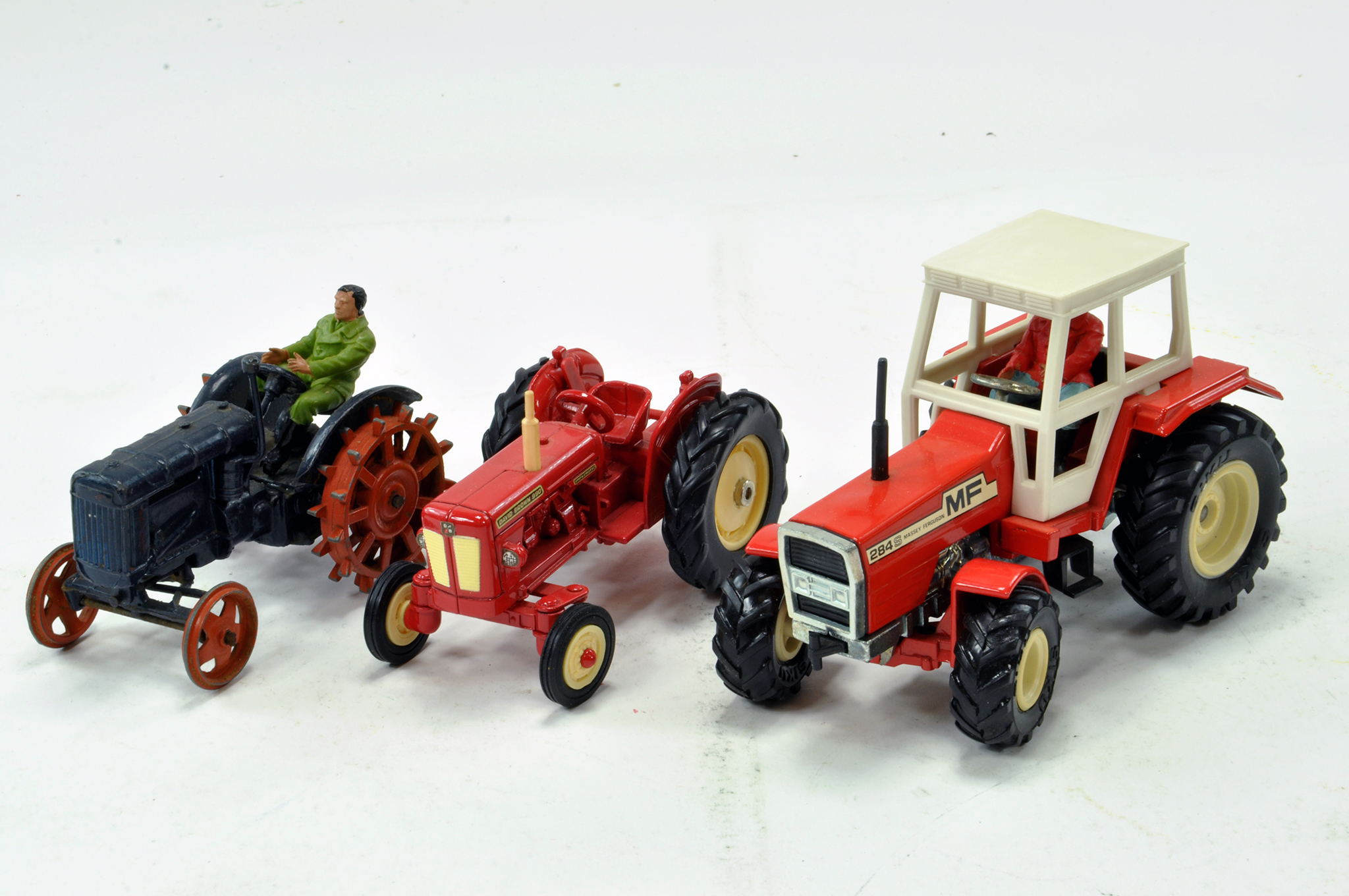 Lot 273 - Britains Fordson E27N Tractor plus other issues. Generally G.