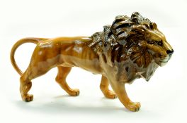 "Beswick Lion Facing Right Model No. 1506 5 ¼"" – 13.3cm - Golden Brown in Gloss. No Faults. Note:"