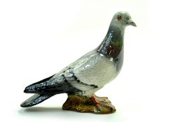 "Beswick Pigeon Model No 1383B - 5 ½"" – 14.0cm - Grey – Second Version 2 Stripes – Gloss - No Faults."
