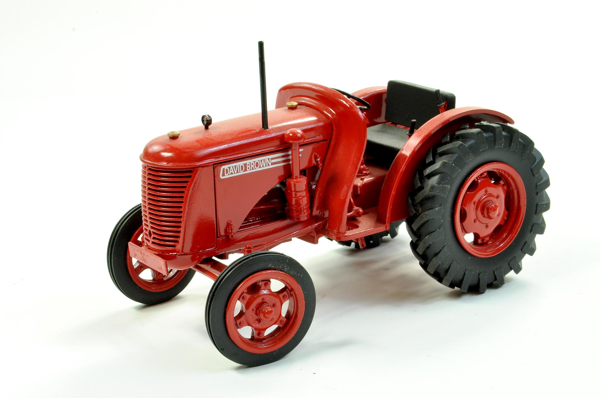 Lot 47 - G&M Originals 1/16 Farm issue comprising David Brown VAK 1 Tractor. Exclusive limited edition,
