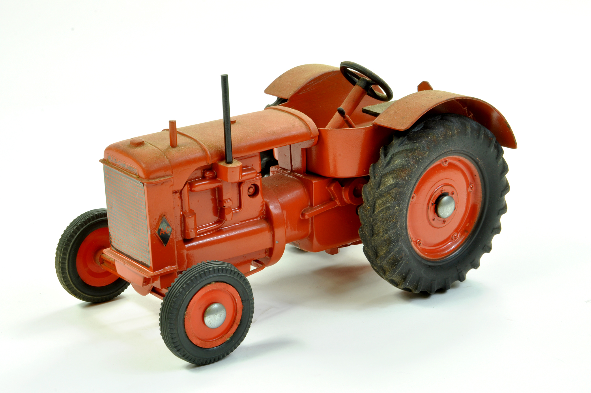 Lot 16 - Marbil Models 1/16 Allis Chalmers AC Vintage Tractor on Rubber Tyres. Generally excellent however