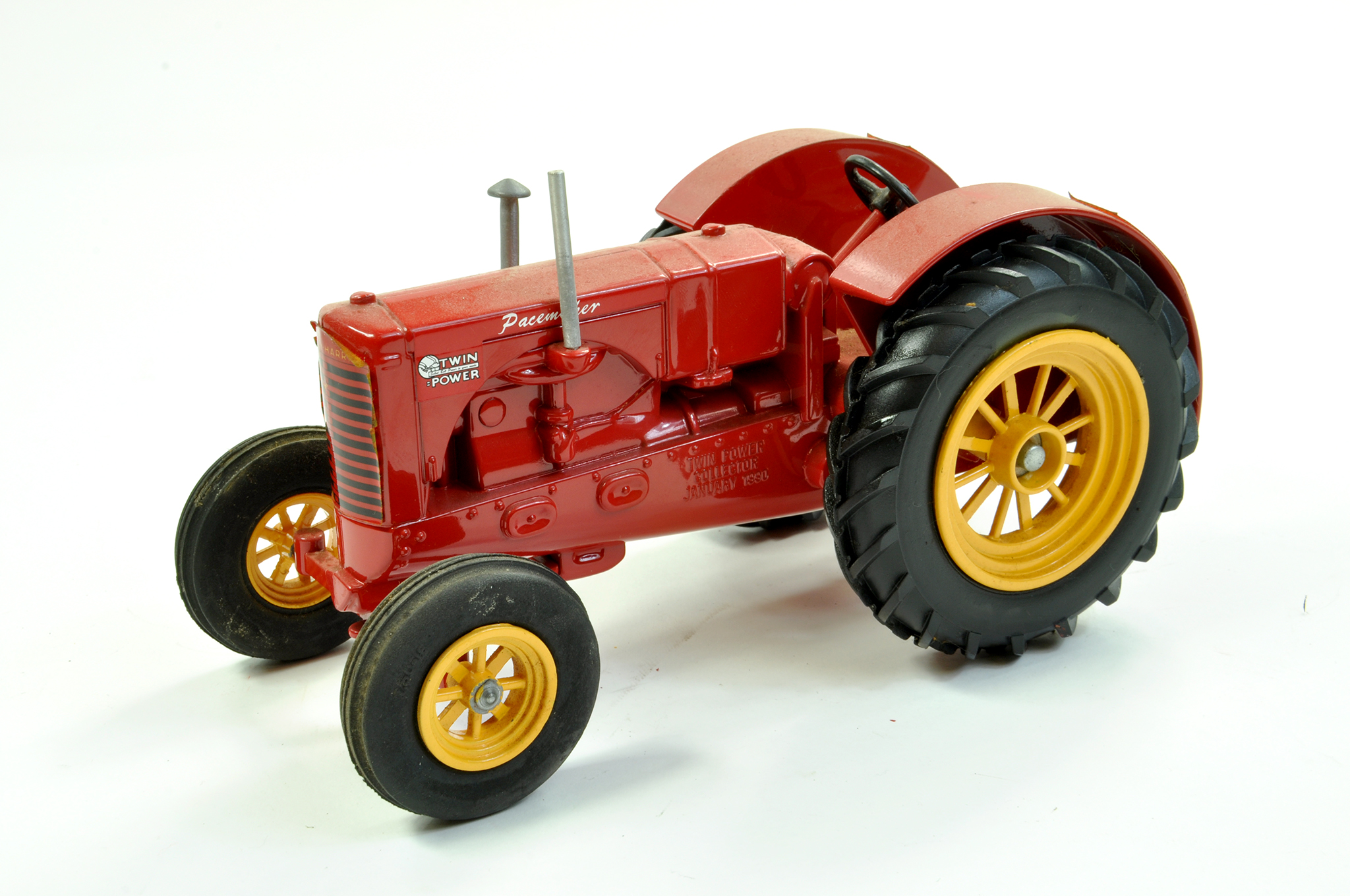 Lot 32 - Spec Cast 1/16 diecast Farm issue comprising Massey Harris Pacemaker Tractor. Generally Excellent.