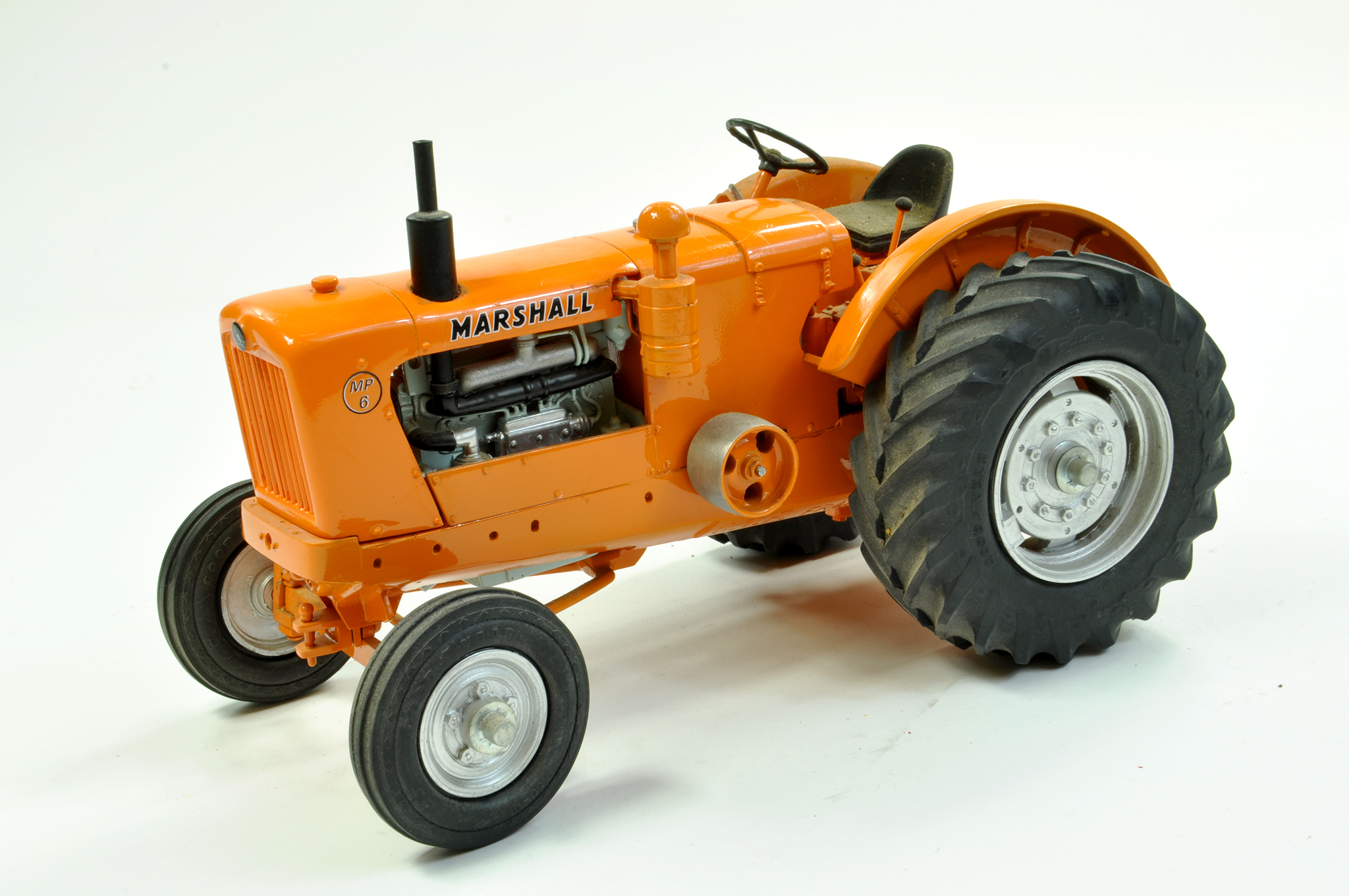 Lot 38 - CTF (France) 1/16 Marshall MP6 Tractor. This hard to find piece has been hand built to a high