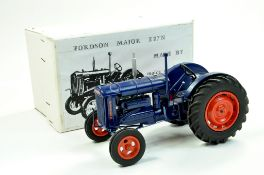 Malcs Models 1/16 Farm Issue comprising Fordson Major E27 Tractor on Rubber Tyres. Hand Built