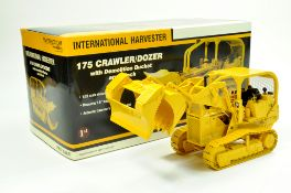 First Gear 1/25 International 175 Crawler Tractor with Demolition Bucket and Winch. Superb piece