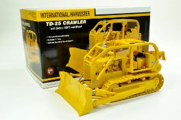 First Gear 1/25 International TD-25 Crawler Tractor with Sweep ROPS and Winch. Superb piece is