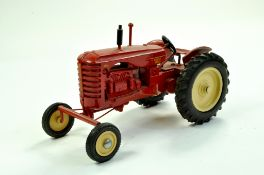 Marbil Models 1/16 Massey Harris 744D Tractor. Generally Excellent, a little dusty. Rare. Enhanced