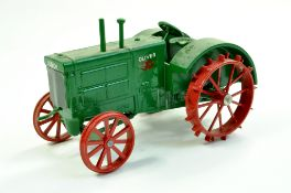 Scale Models 1/16 diecast farm issue comprising Oliver 90 Vintage Tractor on metal wheels. A