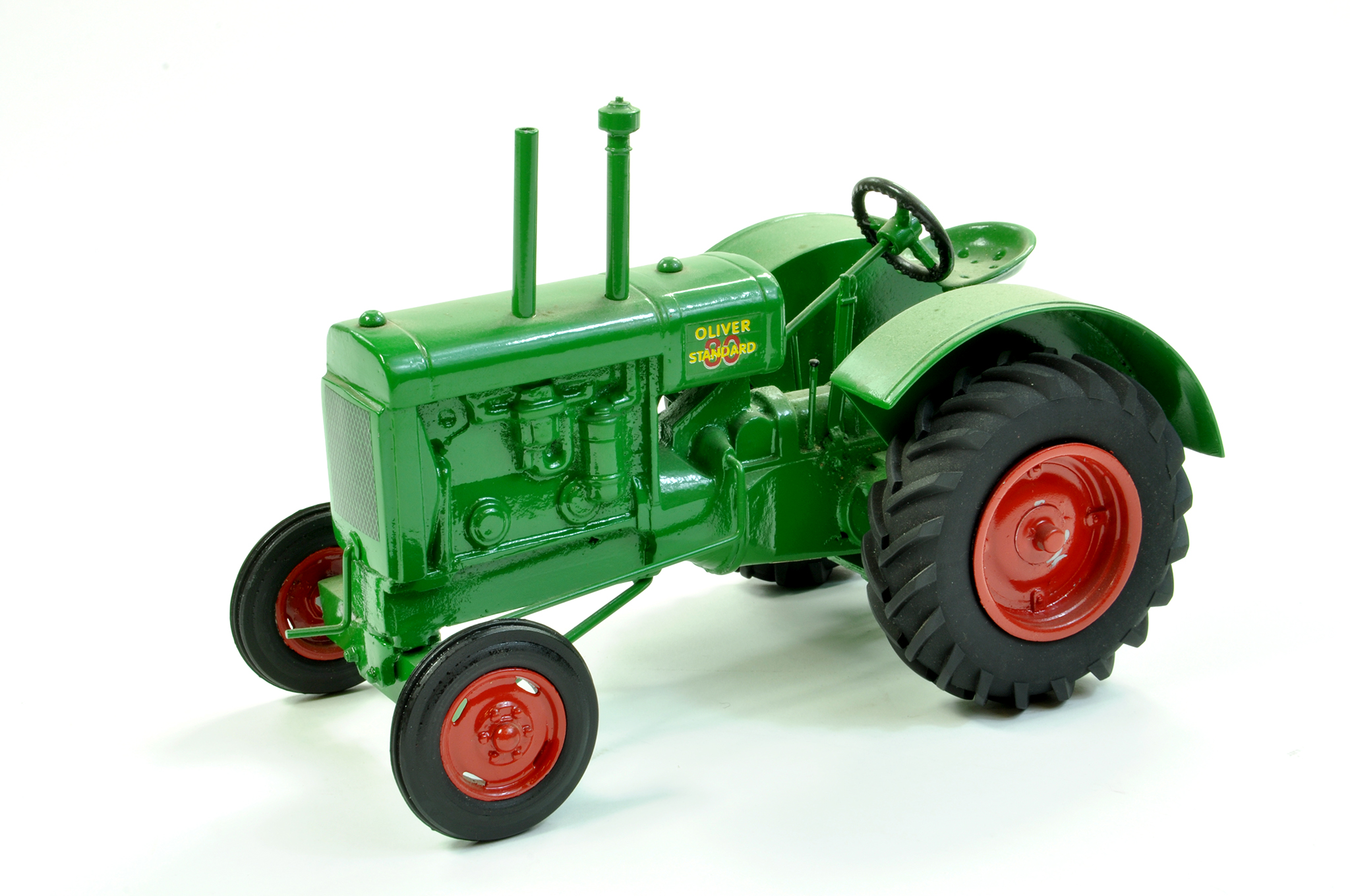 Lot 9 - Teeswater Customs (Canada) 1/16 Oliver Standard Tractor. Generally Excellent, a little dusty.
