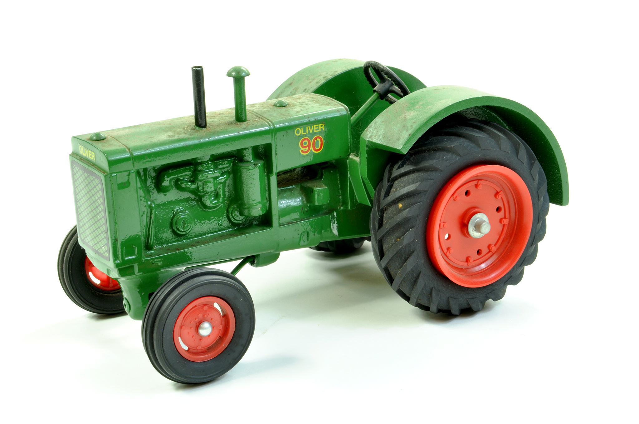Lot 11 - Scale Models 1/16 diecast farm issue comprising Oliver 90 Vintage Tractor. A little dusty but