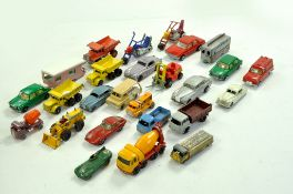 An interesting group of Matchbox Regular Wheels, some early issues. Generally Fair to Very Good.
