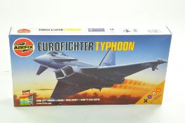 Airfix Plastic Model kit comprising 1/72 Eurofighter Typhoon. Sealed. Complete. Ex Shop Stock.