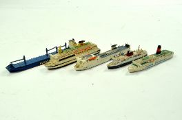 An interesting group of Well Detailed Waterline - Ship issue Austrian Schiffsmodel, mostly Ferry
