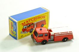 Matchbox Regular Wheels No. 29C Fire Pumper Truck. Very Good to Excellent in Very Good to
