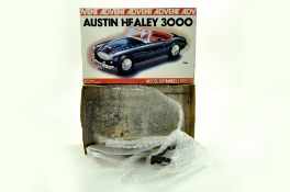 Advent 1/32 Plastic Model Kit comprising Austin Healey 3000. Appears complete and in well