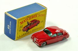 Matchbox Regular Wheels No. 65b Jaguar 3.8 litre Saloon. Lovely example is very good to excellent in