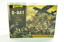 Heller Plastic Model kit comprising 1/72 D-Day Air Assault with Vehicles and Figures. Complete. Ex