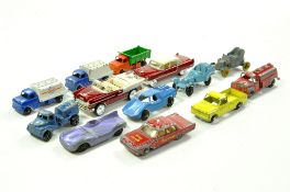 Various diecast issues comprising Tootsietoys, Matchbox and others. Generally Fair to Good. Enhanced