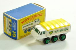 Matchbox Regular Wheels No. 61b Alvis Stalwart. Decent example is very good in very good to