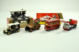 Misc group of diecast comprising Matchbox Model of Yesteryear, Britains Military Jeep, Corgi and