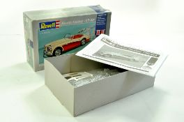 Revell (Re-issue) Plastic Model Kit comprising Austin Healey 100 Six. Appears Complete. Enhanced