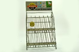 An original Vintage Point of Sale Rack for Humbrol Enamel Paints. Some wear but still displays well.