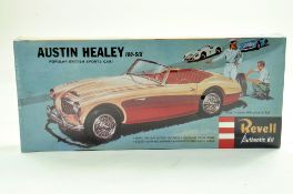Revell (Vintage) Plastic Model Kit comprising Austin Healey 100-six. Sealed. Superb. Enhanced