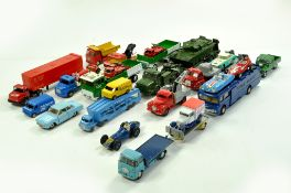 An impressive diecast group comprising Corgi, Dinky and Matchbox. Some well preserved examples