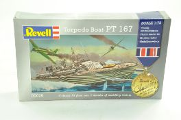 Revell Plastic Model Kit comprising 1/72 Limited Edition Torpedo Boat PT167. Sealed and Complete. Ex